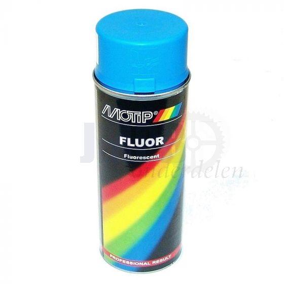 Motip Fluor Blauw - 400ML