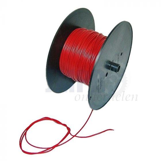 Electrisch Draad 0.5MM² Rood Per Meter