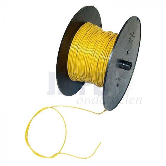 Electrisch Draad 0.5MM² Geel Per Meter