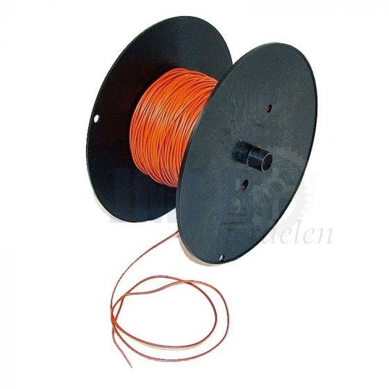 Electrisch Draad 0.5MM² Oranje Per Meter