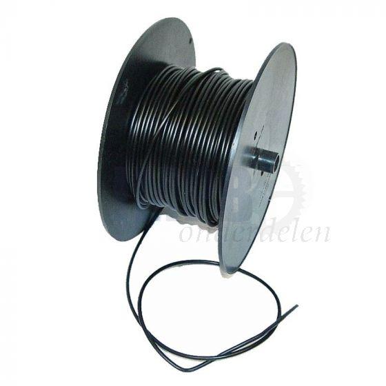 Electrisch Draad 2.5MM² Zwart Per Meter