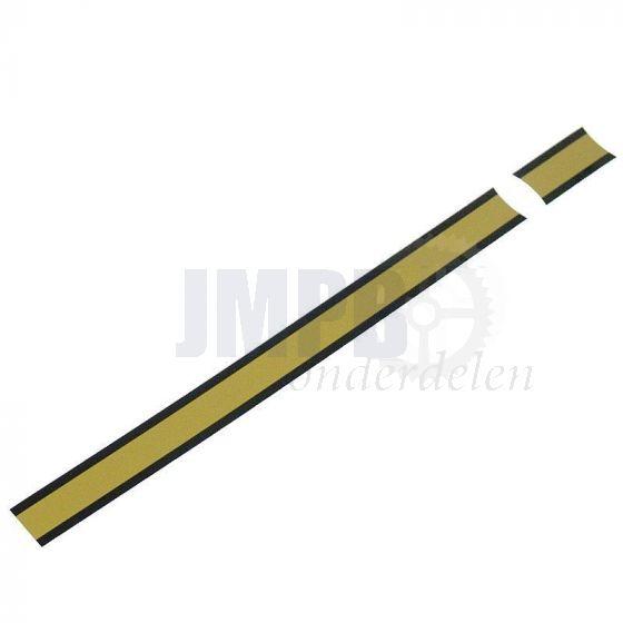 Baansticker Tank Kreidler Goud/Zwart