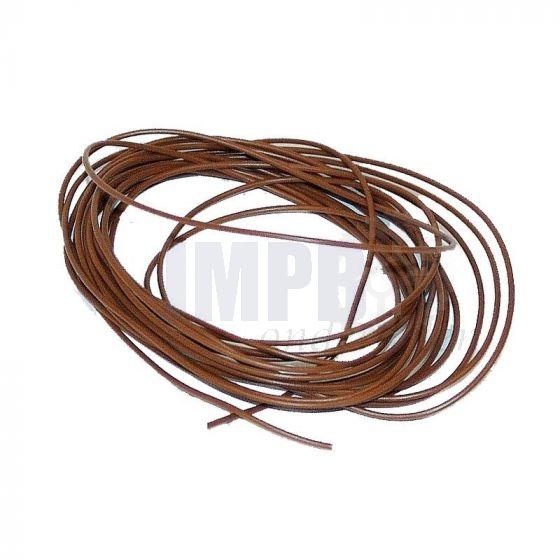 Electrisch Draad 5 Mtr Verp. - 0.5MM² Bruin