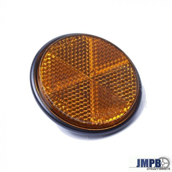 Reflector Oranje Rond 60MM M5 bout